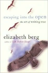 Escaping into the Open: The Art of Writing True by Elizabeth Berg: Book Cover