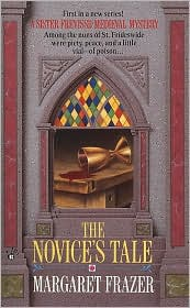 The Novice's Tale (Sister Frevisse Medieval Mystery Series #1) by Margaret Frazer: Book Cover