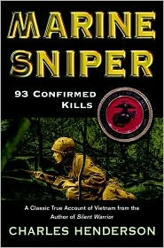 Marine Sniper by Charles Henderson: Book Cover