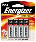 AA Alkaline Batteries 4 Pack by Energizer: Product Image