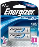 AA Lithium Batteries 2 Pack by Energizer: Product Image