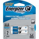 AAA Lithium Batteries 2 Pack by Energizer: Product Image