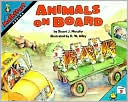 Animals on Board by Stuart J. Murphy: Book Cover