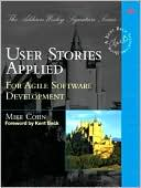 User Stories Applied by Mike Cohn: Book Cover