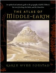 The Atlas of Middle-Earth by Karen Wynn Fonstad: Book Cover