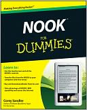 NOOK For Dummies by Corey Sandler: NOOK Book Cover