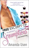 Scrumptious EXCERPT (Free) by Amanda Usen: NOOK Book Cover