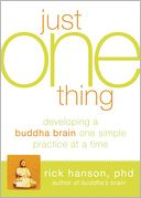 Just One Thing by Rick Hanson: Book Cover