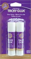 Aleene's &quot;Tacky&quot; Glue Sticks-.28 Ounce 2/Pkg by Duncan: Product Image