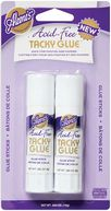 Aleene's Acid Free &quot;Tacky&quot; Glue Sticks-.282 Ounce 2/Pkg by Duncan: Product Image