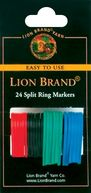 Split Ring Markers-24/Pkg by Lion: Product Image
