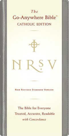 NRSV Go-Anywhere Bible, Catholic Edition: New Revised Standard Version, Black