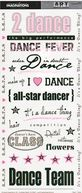 Art Warehouse Stickers 5.5&quot;X12&quot; Sheet-Dance by Creative Imaginations: Product Image