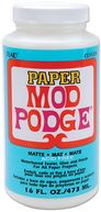 Mod Podge Paper Matte Finish-16 Ounces by Plaid: Product Image