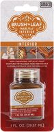 Brush 'n Leaf Interior Metallic Paint 1 Ounce-Antique Gold by AMACO: Product Image