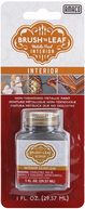 Brush 'n Leaf Interior Metallic Paint 1 Ounce-Silver by AMACO: Product Image