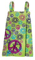 Graffiti Peace Spa Wrap Small by Three Cheers: Product Image