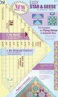 "Easy Star & Geese Ruler-9-1/4""X13"" by Wrights: Product Image"