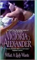 What a Lady Wants by Victoria Alexander: NOOK Book Cover