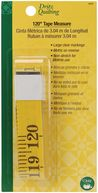 "Dritz Quilting Tape Measure-120"" Yellow by Dritz: Product Image"