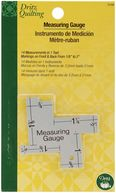 "Dritz Quilting 14 In 1 Measuring Gauge-1/8"" to 2"" by Dritz: Product Image"