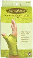 Creative Comfort Crafter's Thumb Glove-Small by Dritz: Product Image
