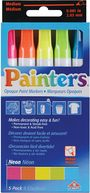 Elmers Painters Opaque Paint Markers Medium Point 5/Pkg-Neon Colors by Elmers/X-Acto: Product Image