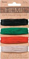 Hemp Cord 20# 120 Feet/Pkg-Primary by Darice: Product Image