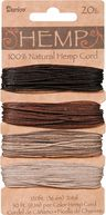 Hemp Cord 20# 120 Feet/Pkg-Earthy by Darice: Product Image
