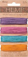 Hemp Cord 20# 120 Feet/Pkg-Pastels by Darice: Product Image