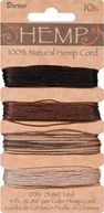 Hemp Cord 10# 170 Feet/Pkg-Earthy by Darice: Product Image