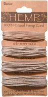 Hemp Cord Assortment 106.7 Feet/Pkg-Natural by Darice: Product Image
