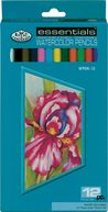 Watercolor Pencils 12/Pkg by Royal Brush: Product Image