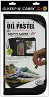 Keep N' Carry Artist Set-Oil Pastels by Royal Brush: Product Image