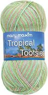 Tropical Tootsies Yarn-Kiwi by Mary Maxim: Product Image