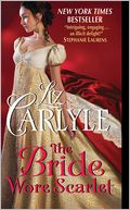 The Bride Wore Scarlet by Liz Carlyle: NOOK Book Cover