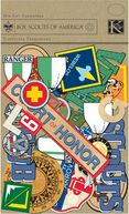 Boy Scouts Cardstock Die-Cuts 468/Pkg by K&amp;Company: Product Image