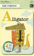 "Actopus To Zelephant Alphabet Cards 5""X7"" 26/Pkg-Animal by K&Company: Product Image"