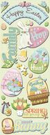 Adhesive Chipboard 4.5&quot;X13.5&quot; Sheet-Easter by K&amp;Company: Product Image