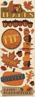 Adhesive Chipboard 4.5&quot;X13.5&quot; Sheet-Thanksgiving by K&amp;Company: Product Image