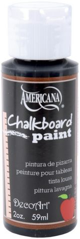Americana Chalkboard Paint 2 Ounces-Black Slate