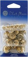 Blue Moon Value Pack Metal Beads-Antique Gold-30/Pkg Assorted Round by Blue Moon Beads: Product Image
