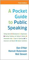 A Pocket Guide to Public Speaking by Dan O'Hair: Book Cover