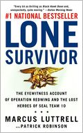 Lone Survivor by Marcus Luttrell: Book Cover