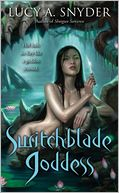 Switchblade Goddess (Spellbent Series #3) by Lucy A. Snyder: Book Cover