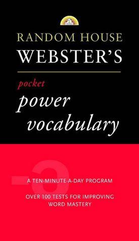 Random House Webster's Pocket Power Vocabulary