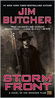 Storm Front (Dresden Files Series #1) by Jim Butcher: Book Cover