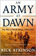 An Army at Dawn by Rick Atkinson: Book Cover