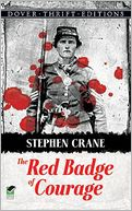 The Red Badge of Courage by Stephen Crane: Book Cover