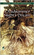 A Midsummer Night's Dream (Dover Thrift Editions) by William Shakespeare: Book Cover